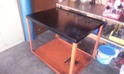 Steel welding table or workbench table for sale.
