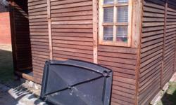 3mx3m wendy house with window for sale.