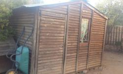 3m x 3.5m Wendy House for Sale. One window, can be used