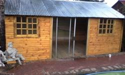 We do wendy house and log cabins we do all size and
