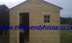 We build new Wendy houses for sale. We move wendys as