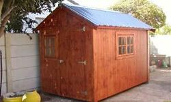 Tumi wendy houses. We build and install Wendy houses of