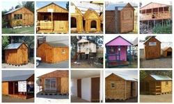 D&J Wendyhouses , we do louvre , knotty pine , and