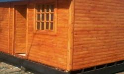 We manufacture good quality wendy houses and log homes