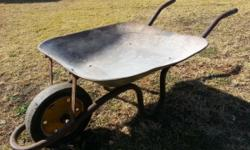 Wheelbarrow for sale. Second hand. Good condition. Old