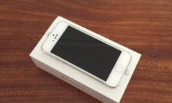 I have a white 32gb iPhone 5 very clean comes with 4