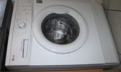 White LG Front Loader Washing Machine (7kg) for sale -