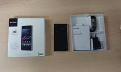 White Sony Xperia Z1 Compact 16gb with original box and