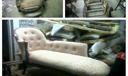 PROFESSIONAL RE-UPHOLSTERY CONTACT US...WE CARRY A VERY