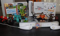 Wii for sale in excellent working order , wit a