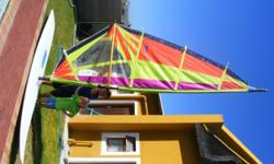 Beskrywing Jiffy hi fly windsurfing kit, complete with