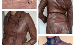 New genuine leather jackets, all original brands like