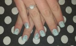 Get a full set of Acrylic nails (Young nails) and a cut