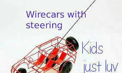 Stunning new range of wire car toys these cars are