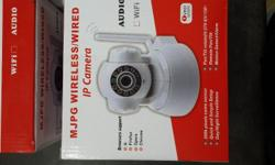 3 x brand new wireless I.P camera for sale R750 each