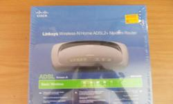 Beskrywing Linksys Wireless-N Home ADLS2 Modem Router