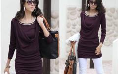 Women's elegant longsleeve bodycon dress/top. Amazing