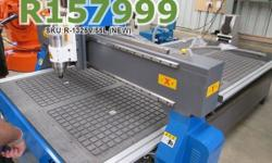 EasyRoute 1300�2500 High-Torque 5.5kW CNC Wood Router,