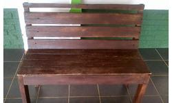 Wooden Benches! R350 @. 3 available! Buyer will be