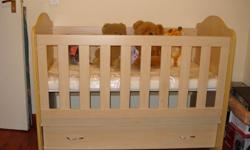 Clarissa Wooden cot Very good condition Will definitely