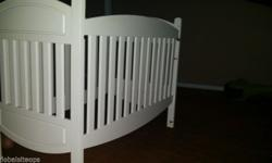 Have 2 x Wooden Cots ideal for Twins. Both painted