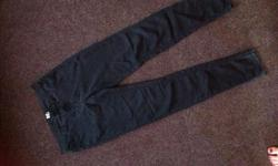 Woolworths Charcoal Skinny Jeggings, size 34. Whatsapp: