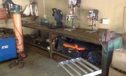 "This is your true ""Heavy Duty"" Work Bench."