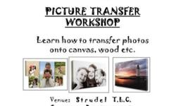 Introducing: PICTURE TRANSFER WORKSHOP Learn how to