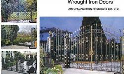 Specifications Wrought iron gate Hot dip galvanized