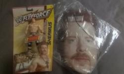 WWE SHEAMUS BRAND NEW ACTION FIGURE AND A SHEAMUS BRAND