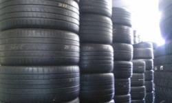 CALL US FOR ALL SEIZES OF SECOND HAND TYRES, RUN FLAT