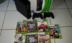 I am selling my xbox 360 250G with 7 new games and