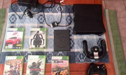 Hi have a xbox 360 for sale . Come with 1 Controller ,