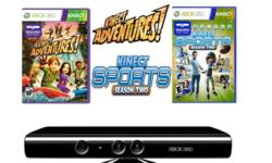 Brand New kinect for sale, includes two games Kinect