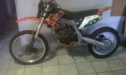 Xmotos 250cc 4 stroke offroad bike with gauges +