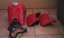 Original fuel tank and plastics. Perfect condition [
