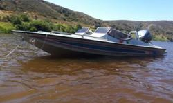 16FT Xtaski with 115hp Yamaha 1995 (+- 90hrs) New Axel