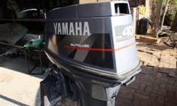 Great Yamaha 40Hp Motor with cables and throttle body,
