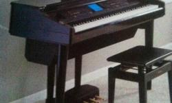 The Yamaha Clavinova CPV-700 offers a bigger sound