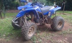 2 Stroke quad for sale, not being used as we have two
