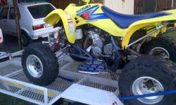 good condition blaster and ltz for sale both bikes run