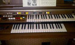 Beskrywing I HAVE A YAMAHA ELECTONE ORGAN FOR SALE. ITS