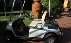Beskrywing Soort: Sports Yamaha 2 seater Electric golf