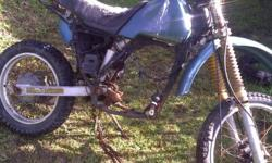 Yamaha IT 495 frame etc for sale. Knysna 0822545618