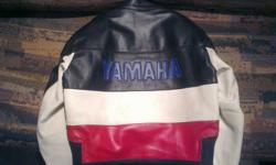 GENUINE LEATHER JACKET ORIGINAL YAMAHA BRAND MY MOM