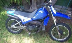Beskrywing Yamaha PW80 Motorbike. In running order and