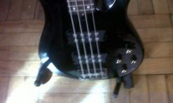 Twin active humbucker pickups awesome tone very good