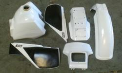 BODY PANEL KIT (reconditioned), TANK, HEADLAMP PANEL,
