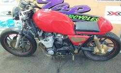 Yamaha XJ650 Café Racer - Red 1982 Model R 15000.00