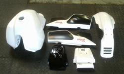 BODY PANEL KIT (RECONDITIONED), TANK, REAR MUD GUARD,